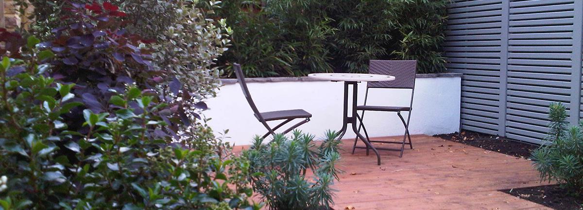 West Hampstead rear garden